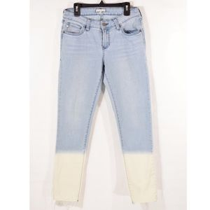 Dear john High Rise ombré skinny cut off jeans